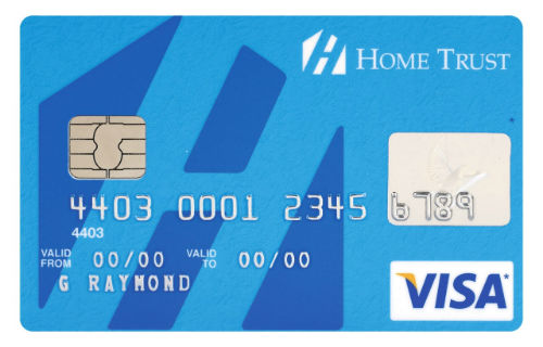 HomeTrust Visa Card